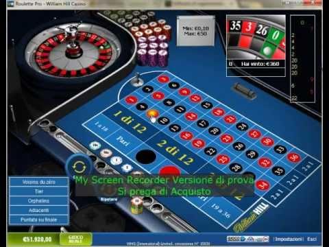 Giocare alla roulette senza soldi