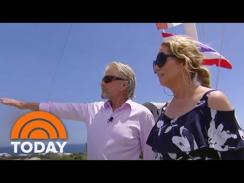 Michael Douglas Gives Kathie Lee A Personal Tour Of Bermuda   TODAY