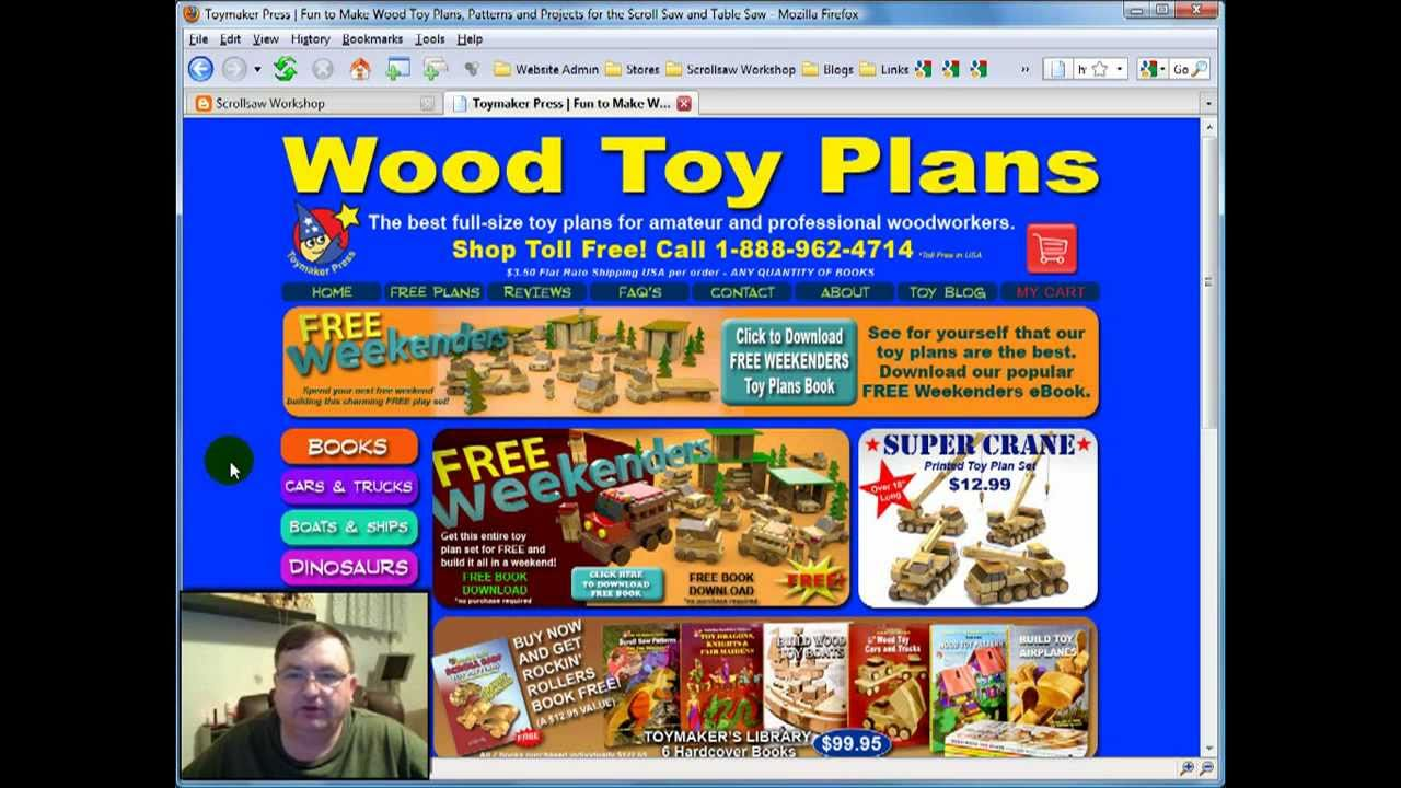 Wood Toy Plans - Steve Good Reviews ToymakingPlans.com - YouTube