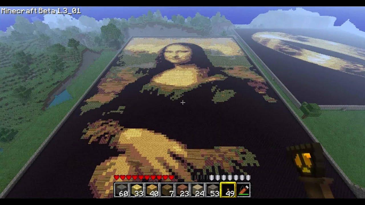 Minecraft Pixel Art Part 4