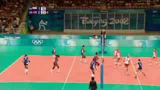 VOLLEYBALL WOMEN (POL VS. CUB)