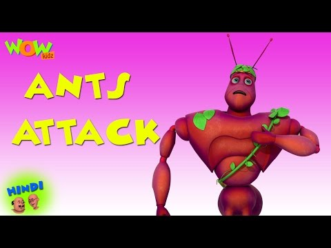 Ants Attack - Motu Patlu in Hindi WITH ENGLISH, SPANISH & FRENCH SUBTITLES thumbnail