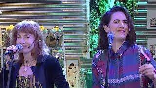 Gloria Carrá y Julieta Díaz unidas por la música - Morfi