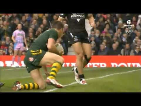 RLWC Final -  New Zealand vs Australia 1st half 30 11 2013