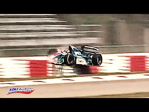 Rubens Barrichello Big Crash 1994 F1 Imola