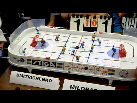 Table Hockey. Moscow Open 13. Dmitrichenko-Miloradov. Game 2