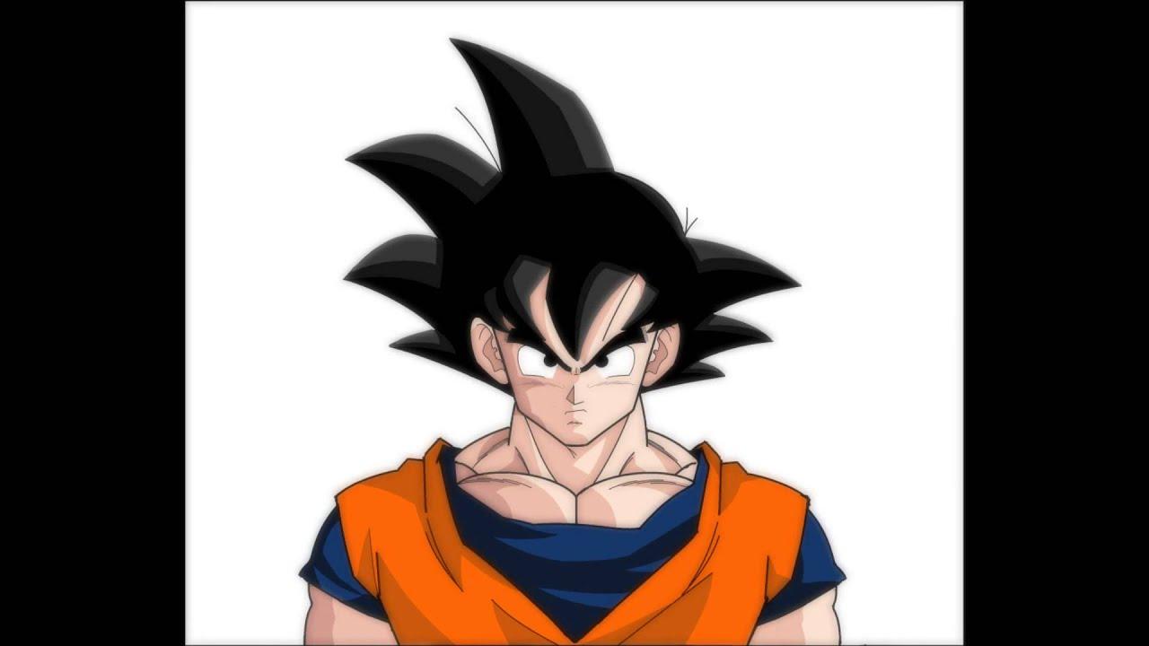 Goku desenho no paint por - Nicolas Blauth de Mattos - YouTube
