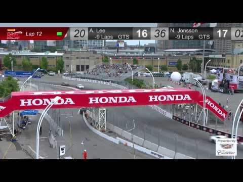 PWC 2014 Replay of Honda Indy at Toronto GT/GT-A/GTS Round 9