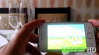 Jogos no Galaxy Ace Duos - Angry Birds