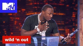 Colin Kaepernick Wins The Stand-Up Player of the Year 'Official Sneak Peek' | Wild 'N Out | MTV