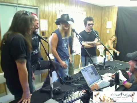 Skid Row Rocklahoma 2009 Wyldside Radio Show
