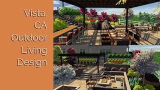 Vista, CA - Outdoor Living Design - VizX Design Studios - (855) 781-0725