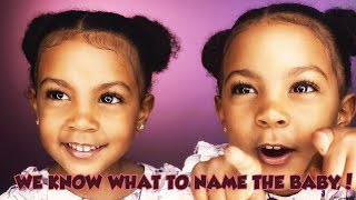 WE KNOW WHAT TO NAME THE BABY! | TWIN TALK