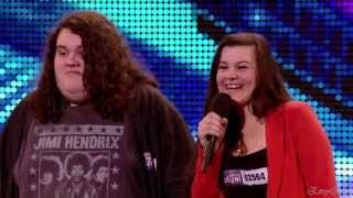 Jonathan And Charlotte Opera Duo A Britain 39 S Got Talent 2012 Auditions