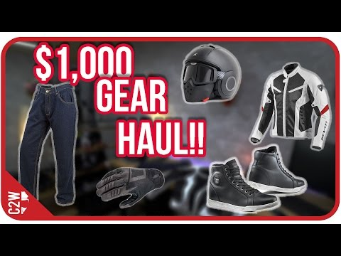 What can you get for $1,000 ?! - Revzilla Gear Haul