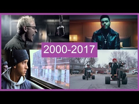 КАК МЕНЯЛИСЬ ХИТЫ С 2000 ПО 2017 ГОД (2 ЧАСТЬ 51 ПЕСЕН)