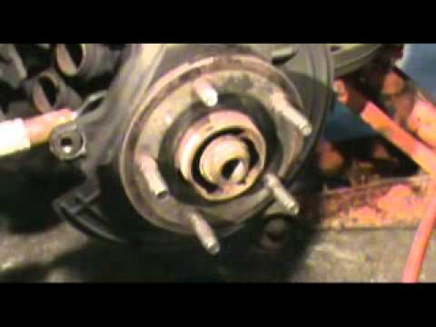 Front Hub Replacement Dodge Ram 4x4 Youtube