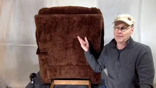 How to Remove a La-z-boy Recliner Back