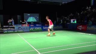 Yonex US Open C'ship 2015 | Badminton SF M4-MS | B.S Praneeth vs Lee C.W