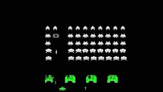 SPACE WAR PART 3 SPACE INVADERS CLONE BOOTLEG 1978 MAME ARCADE GAME spacewr3