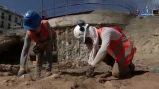 Un trésor archéologique au métro d'Alger