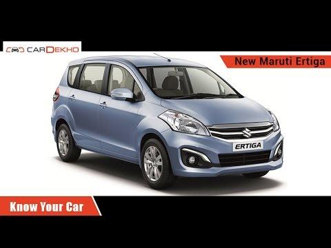 Know Your Maruti Suzuki Ertiga | Review of Features | CarDekho.com
