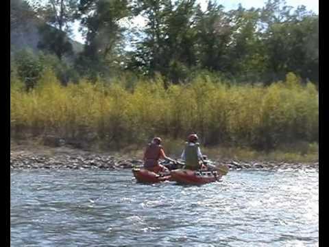туба река рыбалка