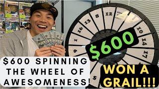 I Spent $600 spinning The WHEEL OF AWESOMENESS! @ Fugitive Toys