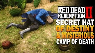 Secret Hat Of Destiny & New Mystery   Red Dead Redemption 2 Secrets