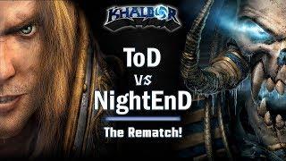 ► WarCraft 3 - ToD (HU) vs. NightEnD (UD) - The ladder rematch!
