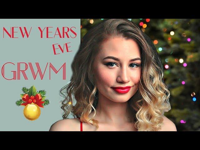 GRWM | Собирайся со Мной | Макияж и Прическа на Новый Год 2018