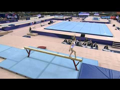 Final de Trave@ Gymnastics Doha 2013