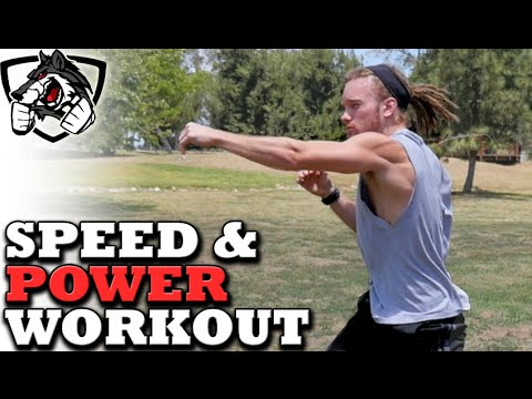 Home Bodyweight Workout for Speed & Power in MMA