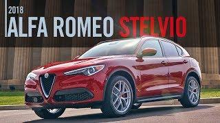 2018 Alfa Romeo Stelvio Ti Sport Review Test Drive