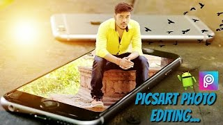 Best photo editing app for android | picsart | part 3