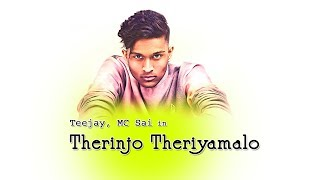 Therinjo Theriyamalo Official Video Song  Teejay M