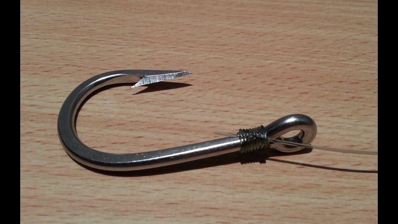 4 carp fishing knot how to snell a hook how to fish for Fish and hooks