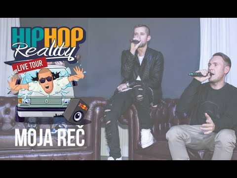 Hiphop Reality #35 Live - Moja Reč |special| video