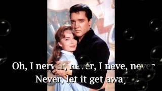 Watch Elvis Presley Because Of Love video