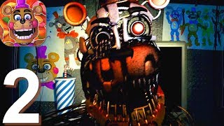 FNaF 6: Pizzeria Simulator - Gameplay Walkthrough Part 2 (Android, iOS Game)