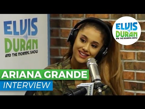 Ariana Grande Interview Discusses #DangerousWoman, Latex Bodysuits and SNL | Elvis Duran Show