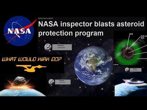 NASA epic fails Asteroid Protection Program inspection. Doom On!