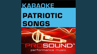 America The Beautiful Karaoke Lead Vocal Demo In The Style Of Patriotic