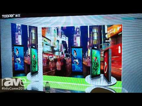 InfoComm 2016: Tooper Features LED Display Outdoor and Indoor