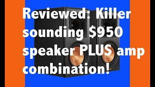 I was gobsmacked by this $950 speaker plus amp system!!