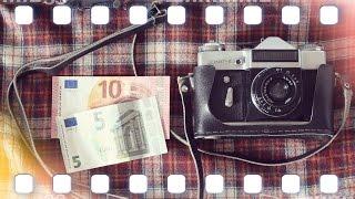 """Zenit-E """"günstige Spiegelreflexkamera für 15€"""" - Analog Kamera Review"""