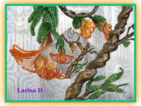 Дерево эльфов из бисера