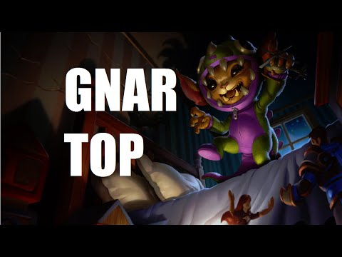 League of Legends - Gnar Top - Full Game Commentary