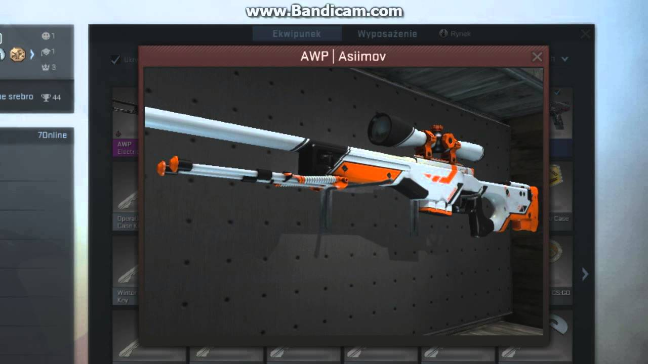 asiimov black scope price