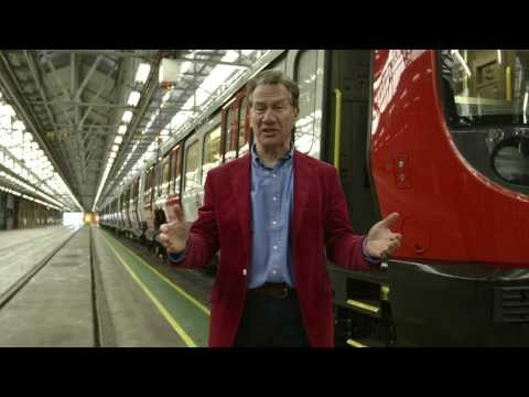 Our new hi-tech trains introduced by Michael Portillo